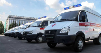 Новые машины скорой помощи получены в Копейске