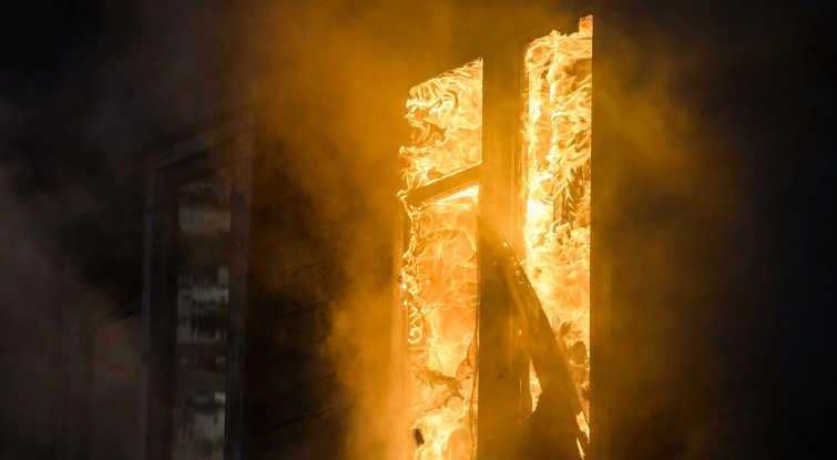 пожаре в пятиэтажном доме в Перми