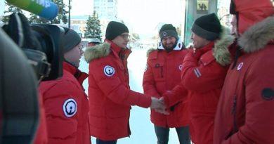 Журналисты телеканала «Мир» снимают фильм о Челябинске